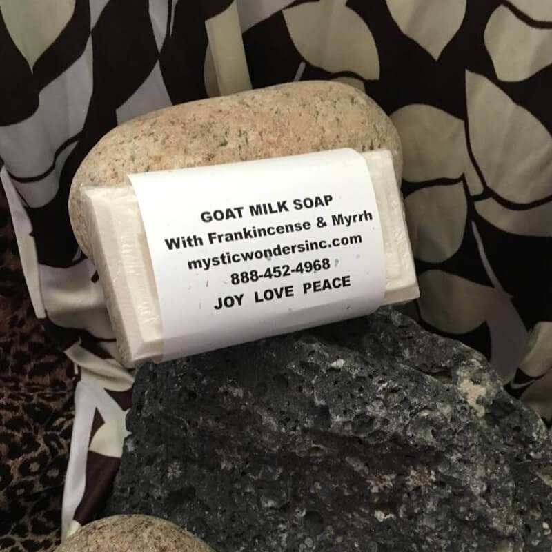 Goat Milk Soap with Frankincense and Myrrh