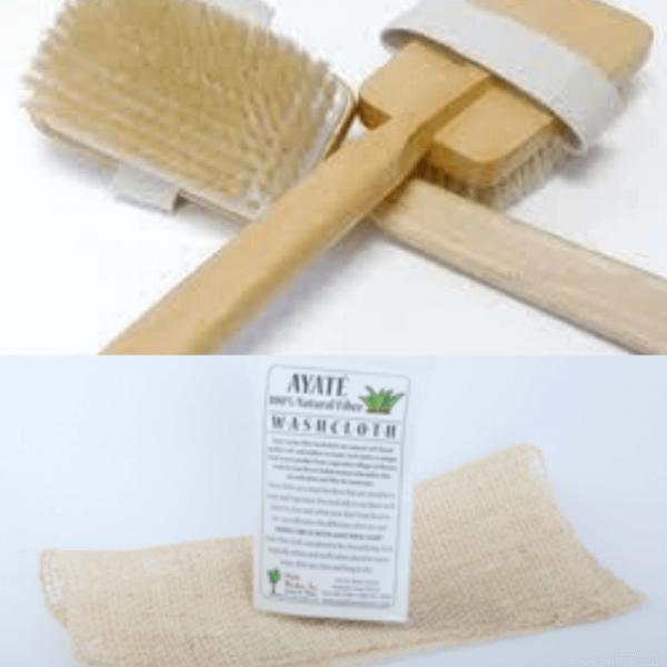 Ayate Cloth and Dry Brush