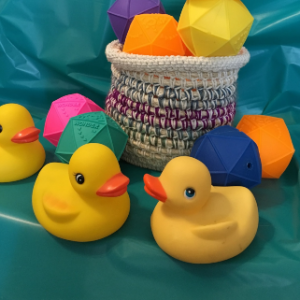 Classic Rubber Duckies and Stress Balls