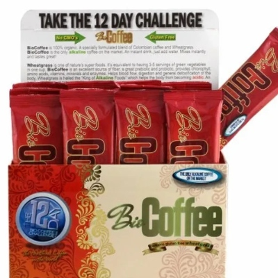 Bio Coffee 12 Day Challenge open box