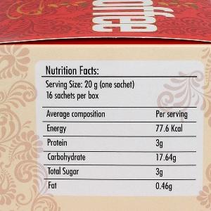 Bio Coffee Nutrition Facts (small)