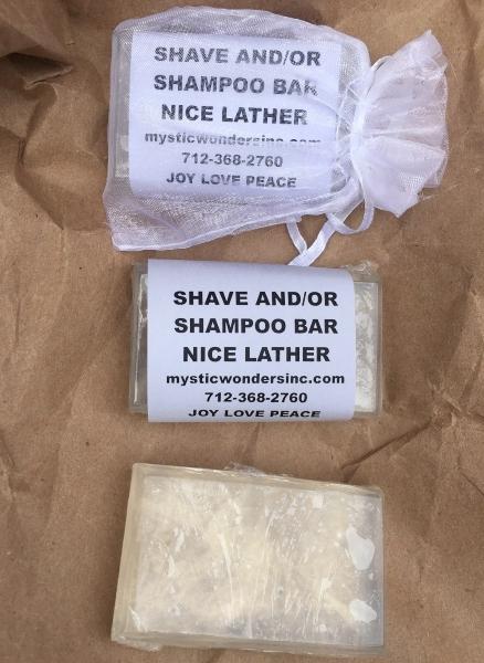 Shave and Shampoo Bar 4 oz